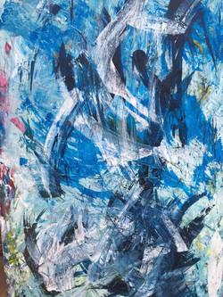 Fine Arts Acryl auf Leinwand Britta Weimer-Kuschnigg