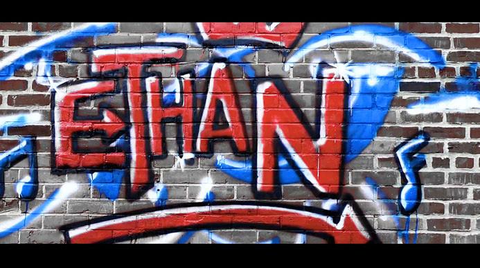 Graffitti Wall by Ali