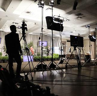 5Gear Studios buidling a Live Stream set