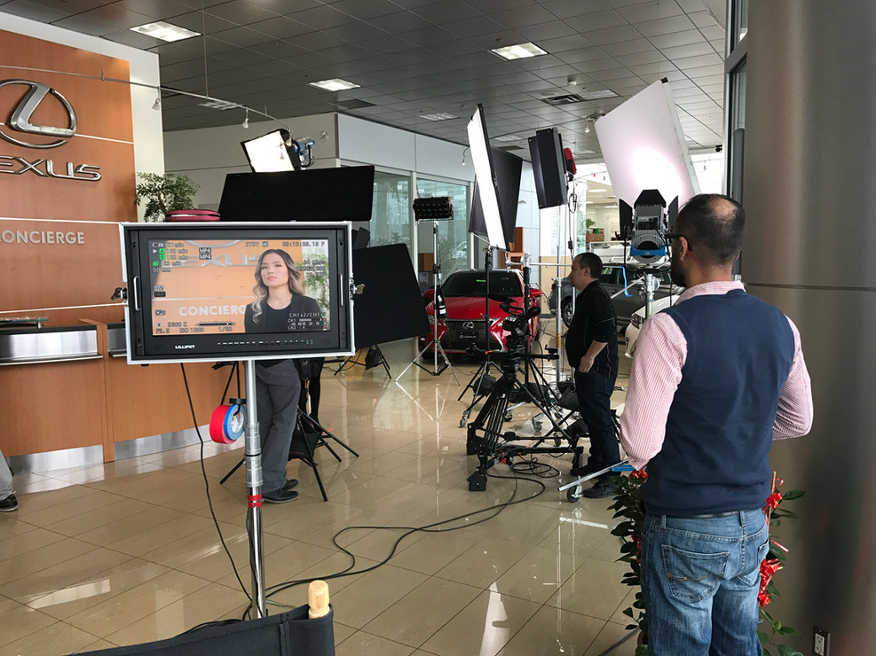 Behind the Scenes at Lexus