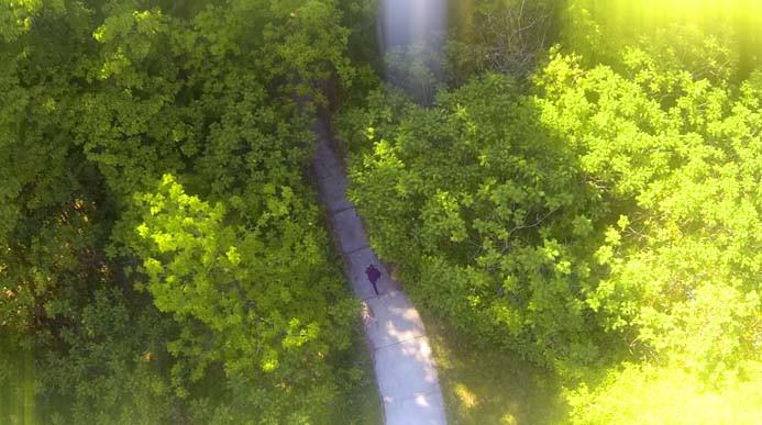 Aerial Tribute Video Shot