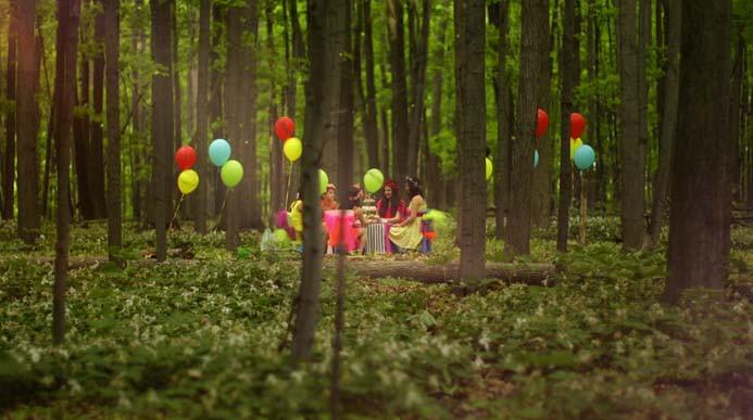 Alice in Wonderland Music Video Forest Scene