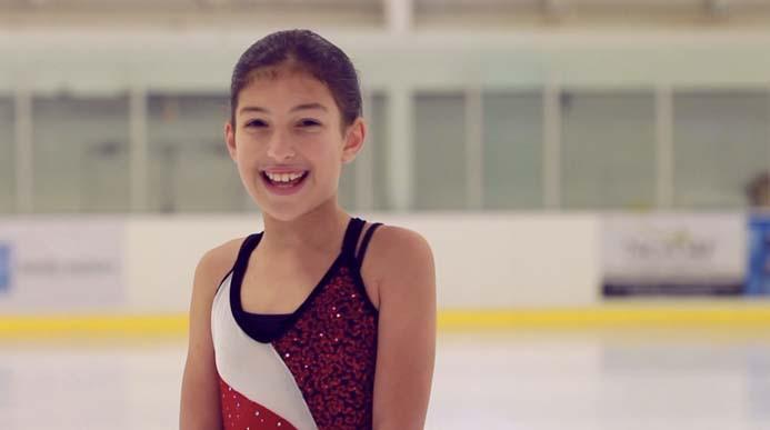 Elyssa on the Ice!