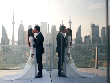 Melissa + David's Wedding | The Globe and Mail, Toronto