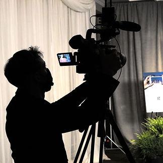 5Gear Studios camera operator on live stream set