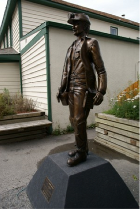 Canmore Statue