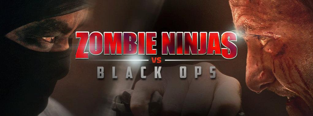 Zombie Ninjas vs Black Ops movie poster artwrk