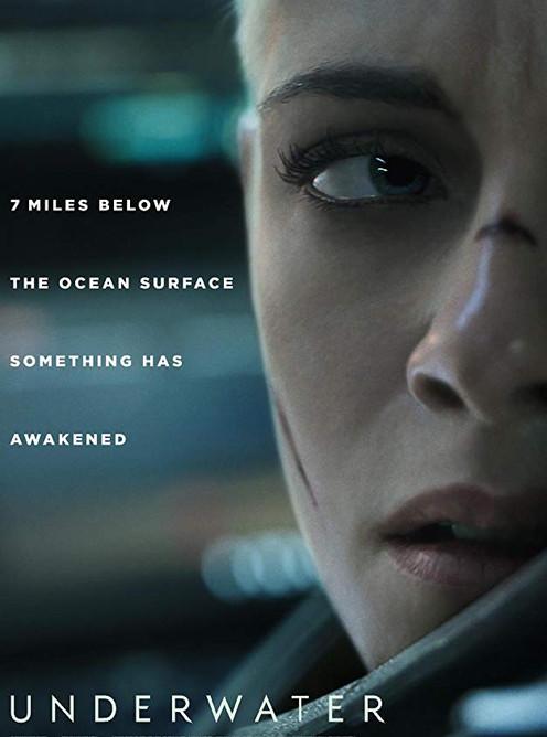 Underwater Movie Poster starring Kristen Stewart