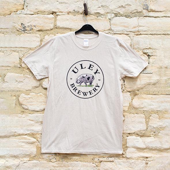 Uley Brewery T-Shirt - Sand