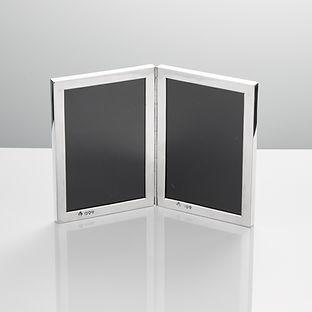 Silver Double Frame by Maplin Bros