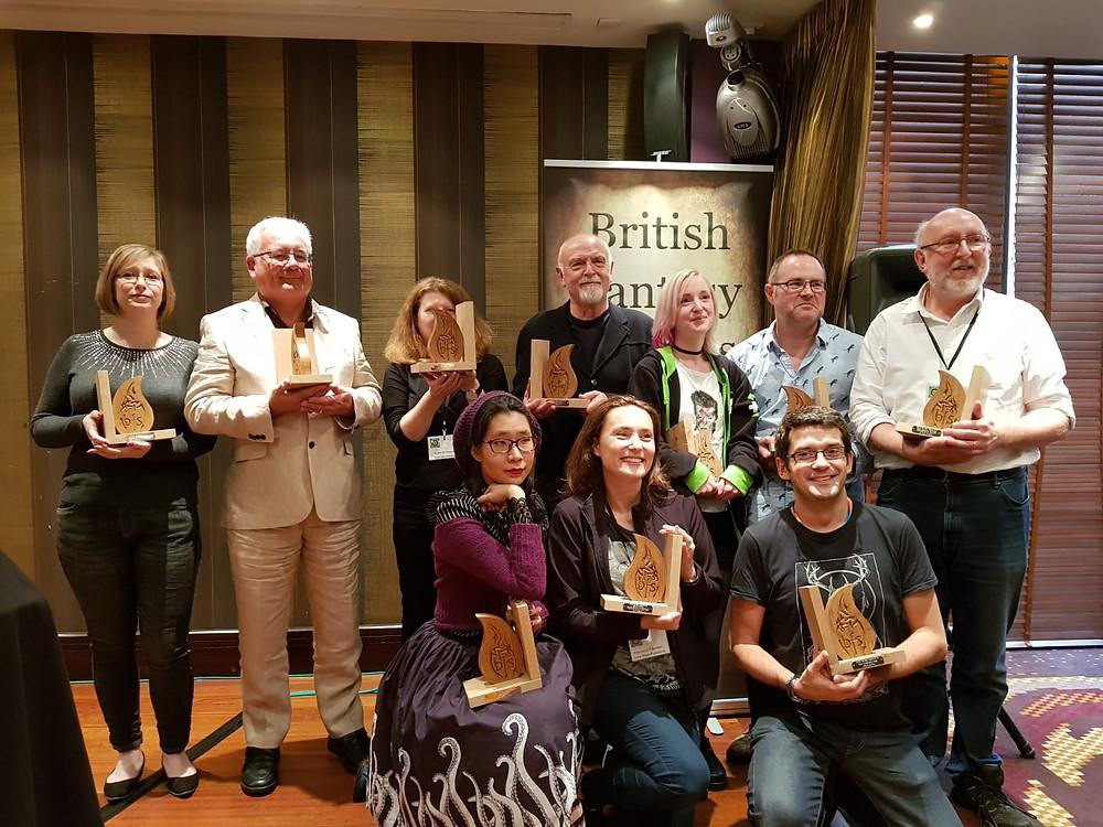 The Winners of the British Fantasy Awards 2018