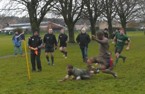 Elis Garland's 79th minute try secures vital win for Minety