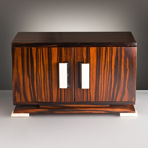 French Art Deco Cigar Humidor