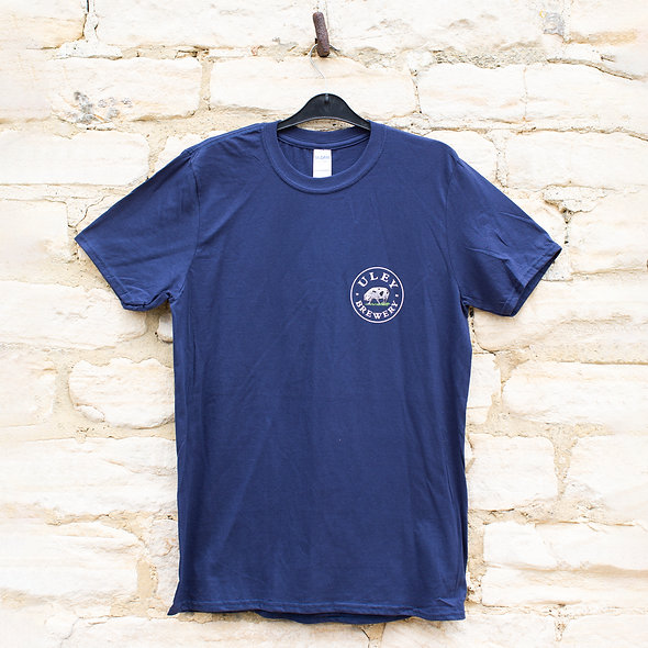 Uley Brewery T-Shirt- Navy