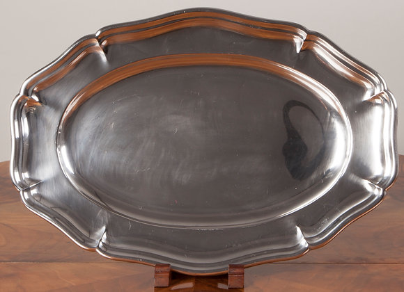 Early 20th Century Silver Plated Serving Tray