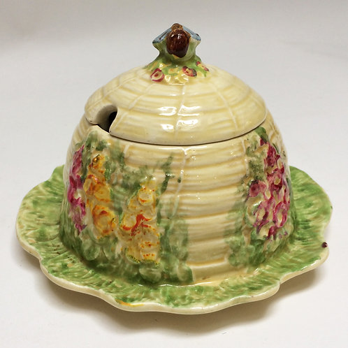 'Royal Winton' Bee Hive Honey Pot