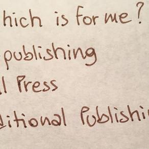 Publishing Routes: Traditional Publishing?