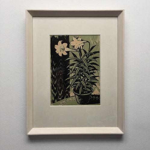'2 Lilies' By Li Chung 1956