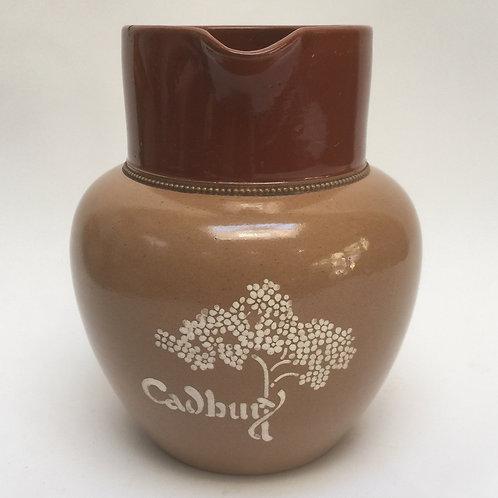 Large Stoneware Cadbury Chocolate Jug