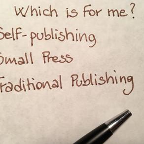 Publishing Routes: Self-Publishing?