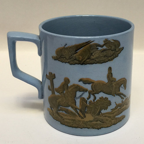 Mug By Pratt Of Fenton, Staffordshire, Dated 1856