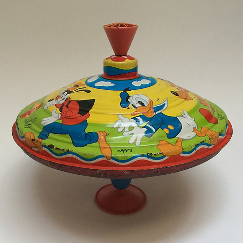 Pre-War Walt Disney Children's Spinning Top