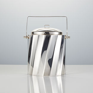 Mid-20th Century Sterling Silver Ice BucketMade by Cartier
