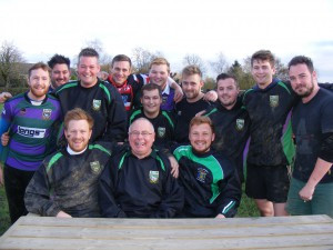 Cliff and some of the 1st XV