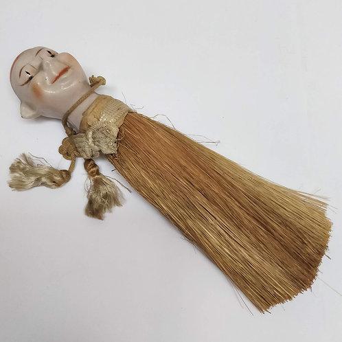 1920's Japanese Clown Crumb Brush