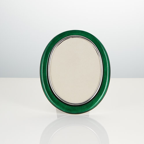 A Early Rare 20th Century Silver and Enamel Photo Frame of Exceptional Quality