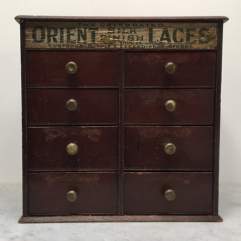 Counter Top Haberdashery Cabinet, Drawers