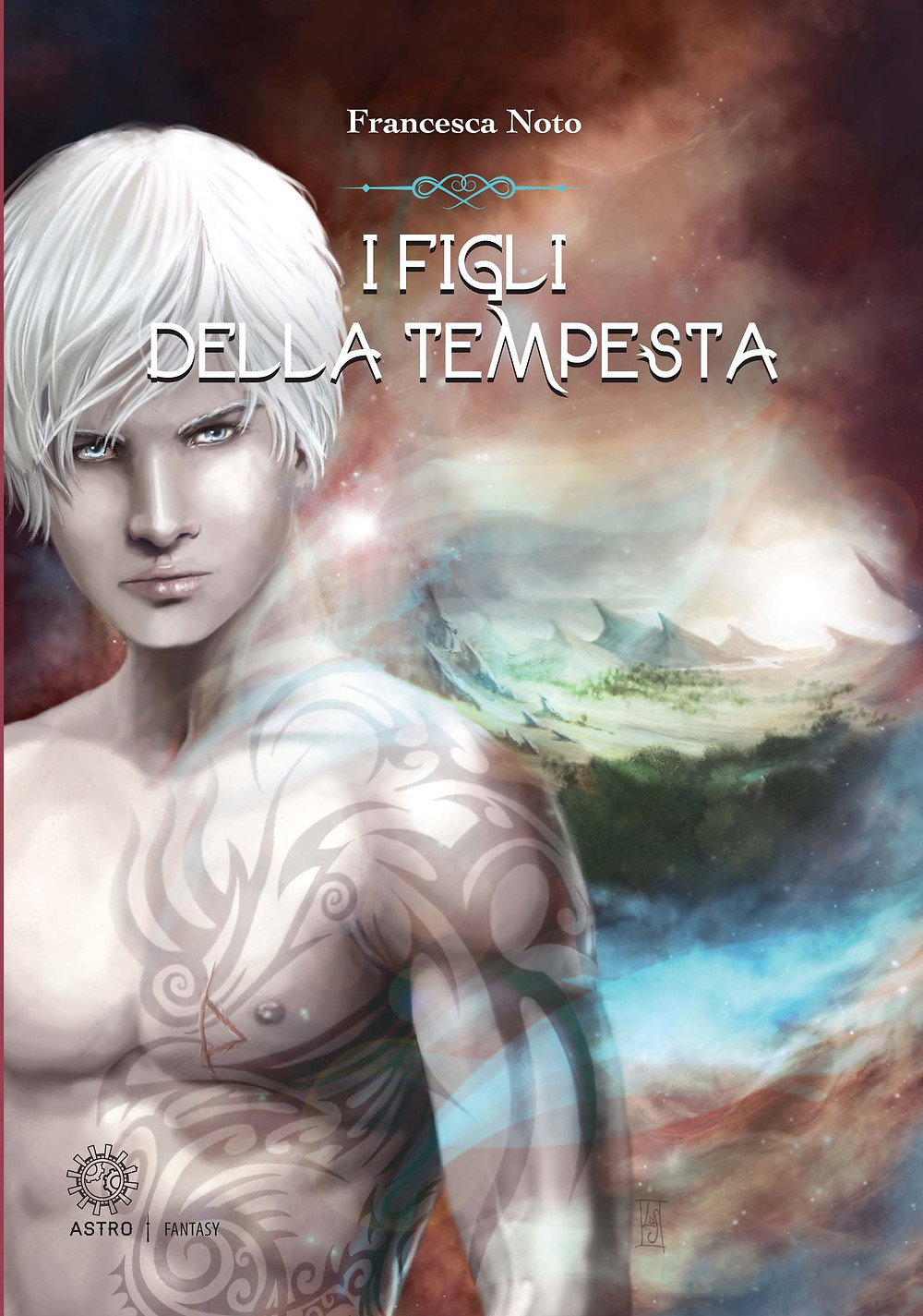 Italian Cover of Sons of Storm by Francesca Noto, soon to be released in English by Luna Press Publishing