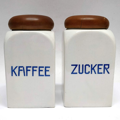 Zucker Ceramic Kitchen Jar