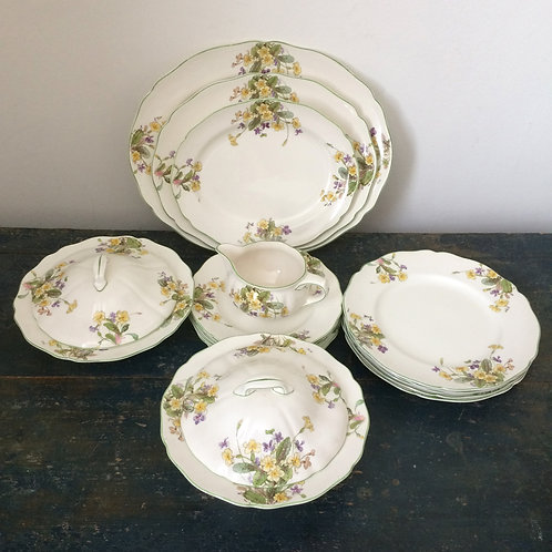 Primroses and Violets- Royal Doulton 'Spring'