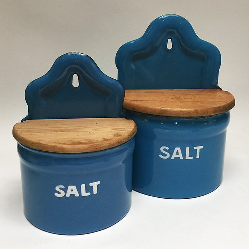 Enamel Salt Boxes, Small £40