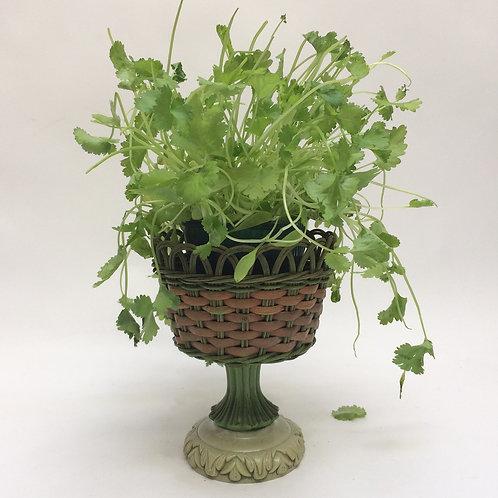 Pretty Wicker Plant Stand