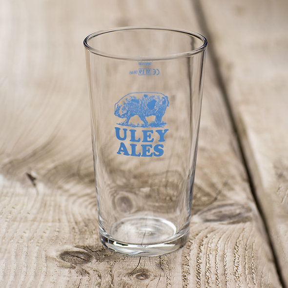 Uley Ales Pint Glass