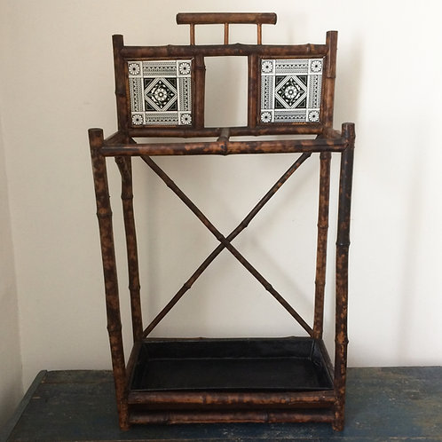 Stylish Bamboo Arts And Crafts Tiled Stick Stand