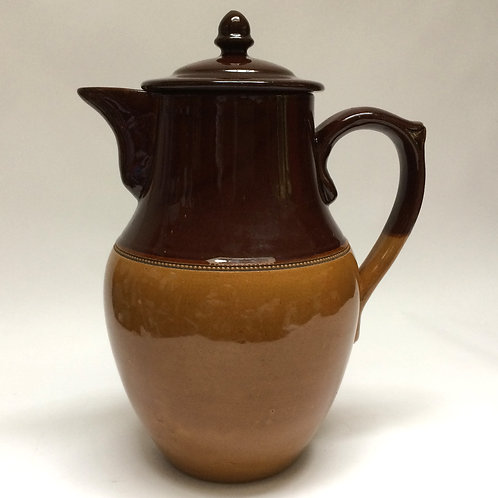 Large Lovatt Treacle Glazed Covered Jug