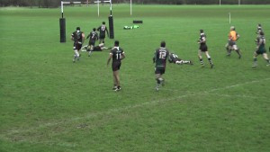 ... and scores the match winning try!