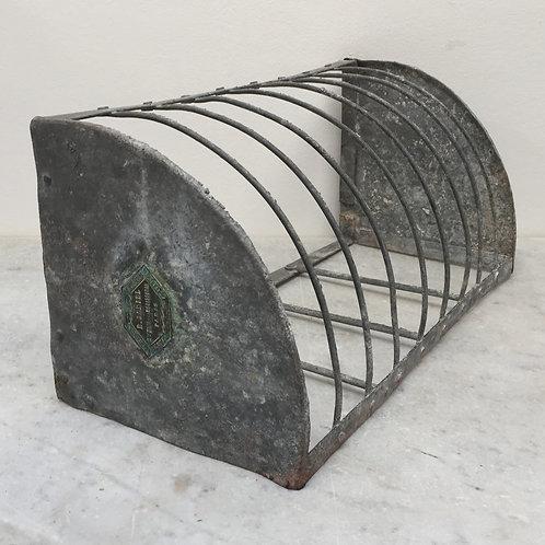 French Zinc Draining Rack
