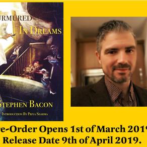 Murmured in Dreams Enters Pre-Order!