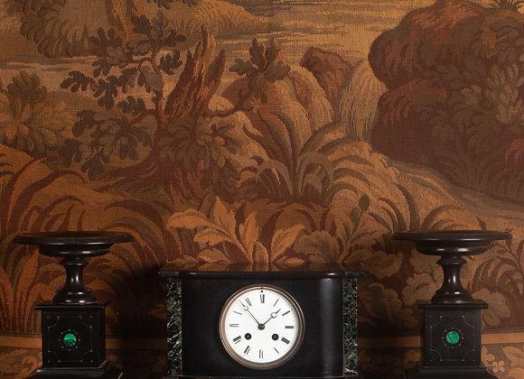 Victorian Clock Garniture