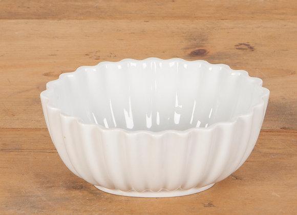 White Pottery Jelly Mould