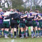 Pre match huddle