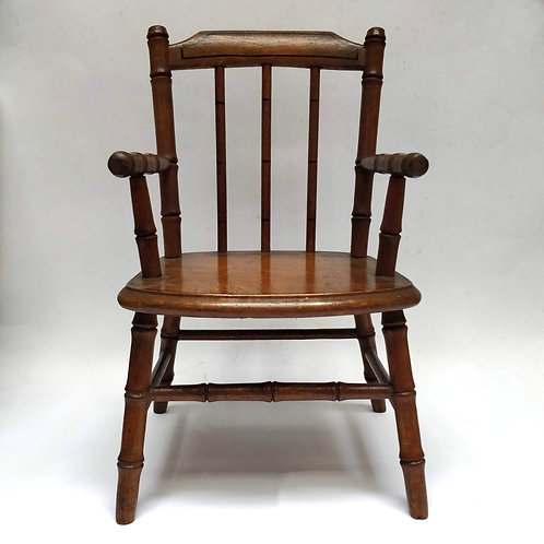 Wooden Doll's Chair