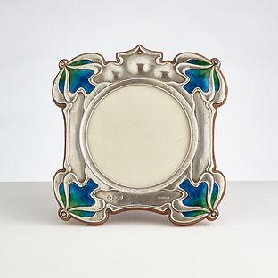 Beautiful Art Nouveau Photograph Frame by William Hutton, London, 1906