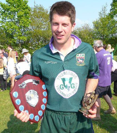 Winning Minety skipper Reuben Saunders