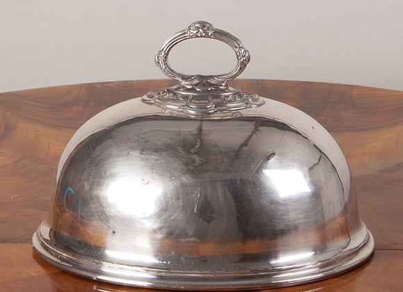 A Victorian Silver Plated Food Dome/Cloche