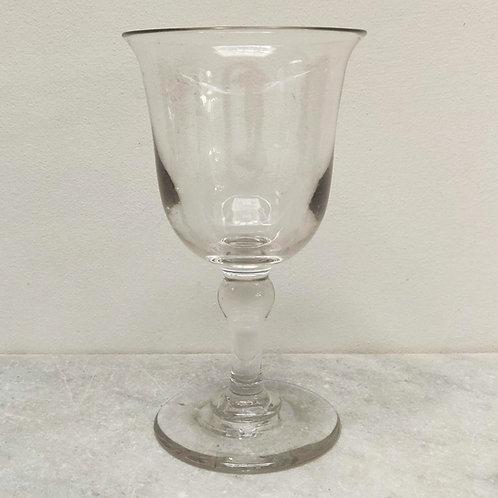 Huge Glass Goblet